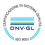 Certificazione di sistema di qualità DNV GL ISO 9001